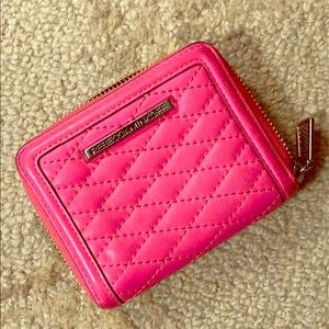 REBECCA MINKOFF Pink Leather Wallet